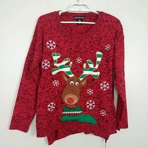 United States Sweaters Light it Up Rudolph #3777